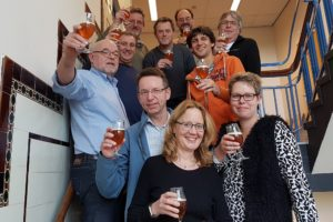 Deelnemers workshop bierbrouwen 19 november 2016